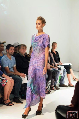 Buluuy Mirrii indigenous fashion label by Colleen Tighe-Johnson. Rachel Hancock @retrogoddesses