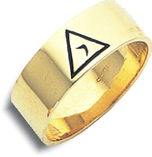 14th Degree Ring in 10K Yellow Gold – 8mm