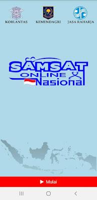 Aplikasi Samsat online Nasional