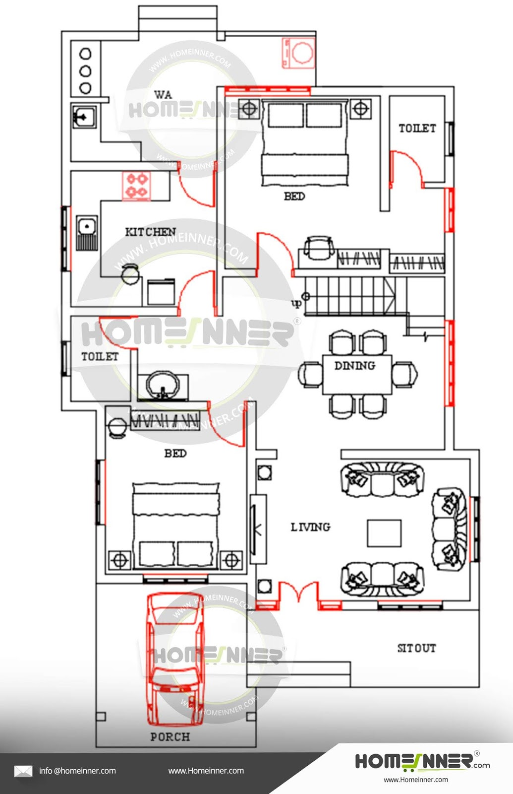 Free Kerala Home Design Floor Plan