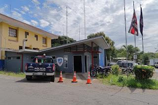police station in Ciudad Colon