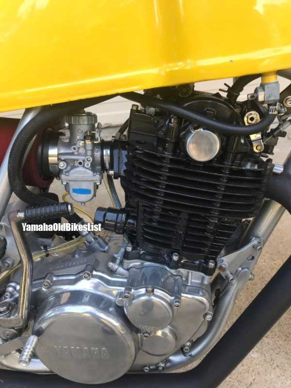 1978 Yamaha Sr500 Cafe Racer Modification Ideas