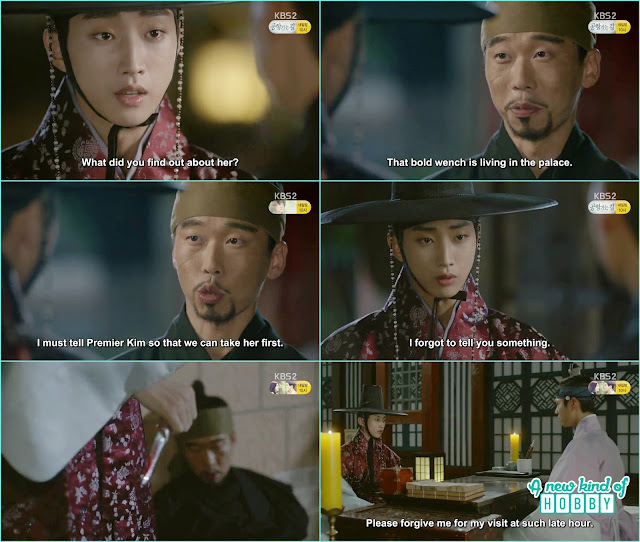 yun sung finsih off the messenger who has the prove Ra on is living in the palace   - Love In The Moonlight - Episode 12 Review