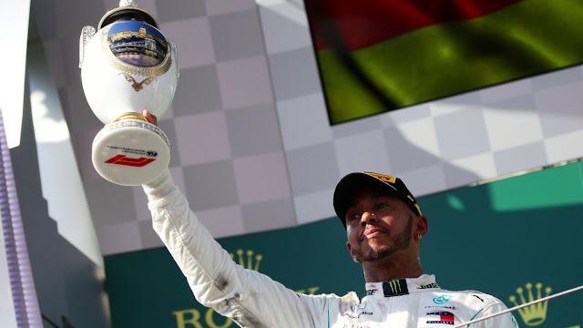 Lewis Hamilton conquistó Hungría