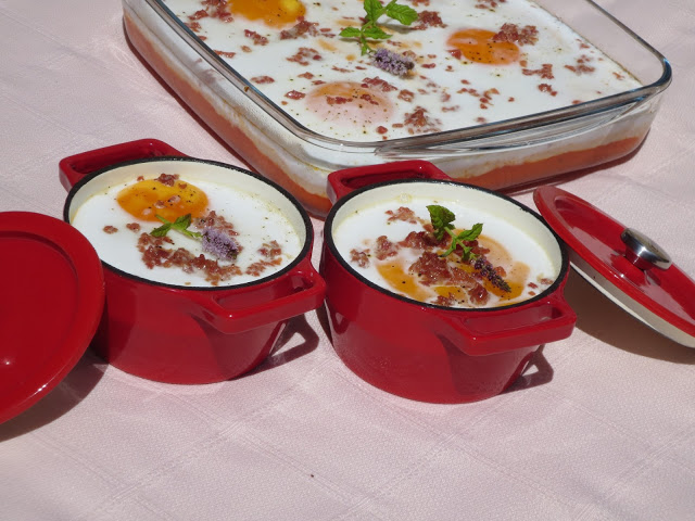 Huevos en cocotte Ana Sevilla