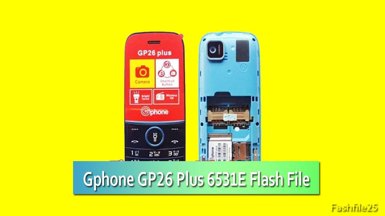 gphone gp26 plus flash file
