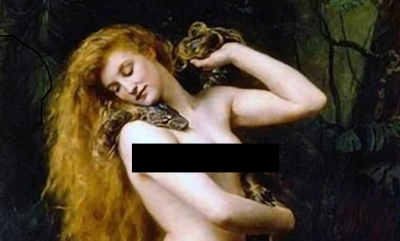 Lilith, John Collier painting