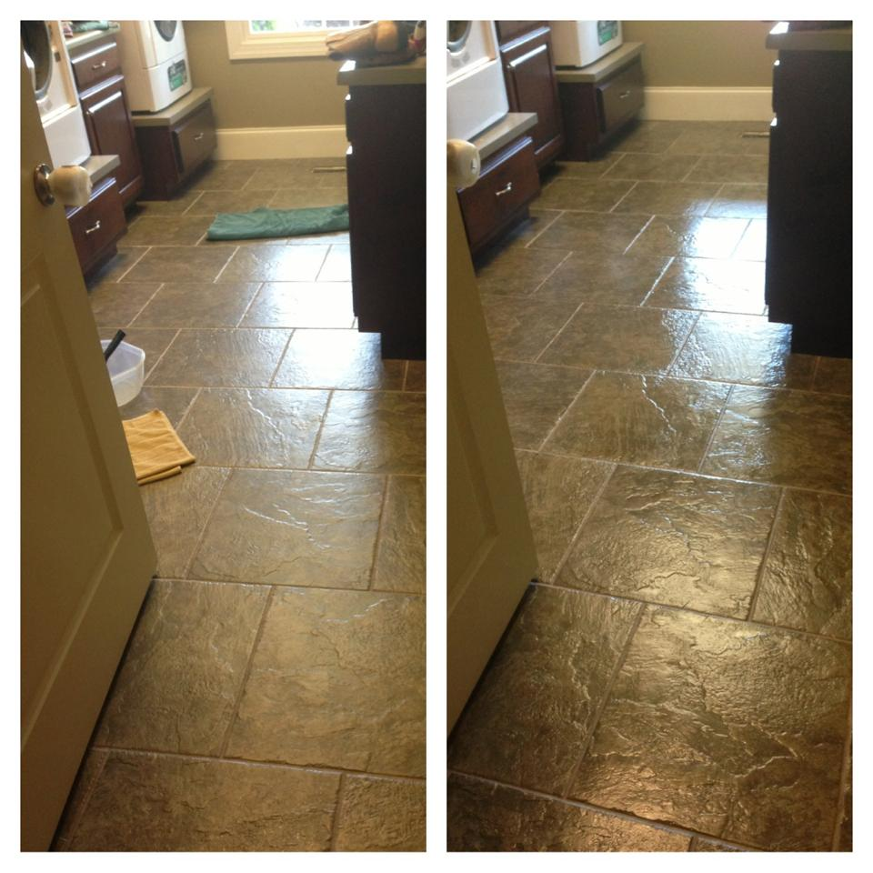 """Dupont High Gloss Sealer: Crafty Southern Mama: Lovely """"New"""" Laundry Room Tile"""