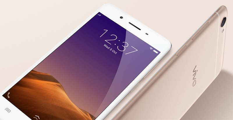 Rendered image of the Vivo Y55L