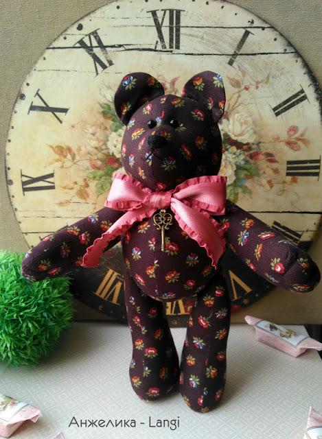 Мишка Шоколадный
