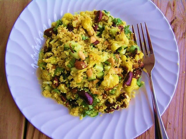 The Melting Pot: Curried Quinoa Salad with Roasted Cauliflower