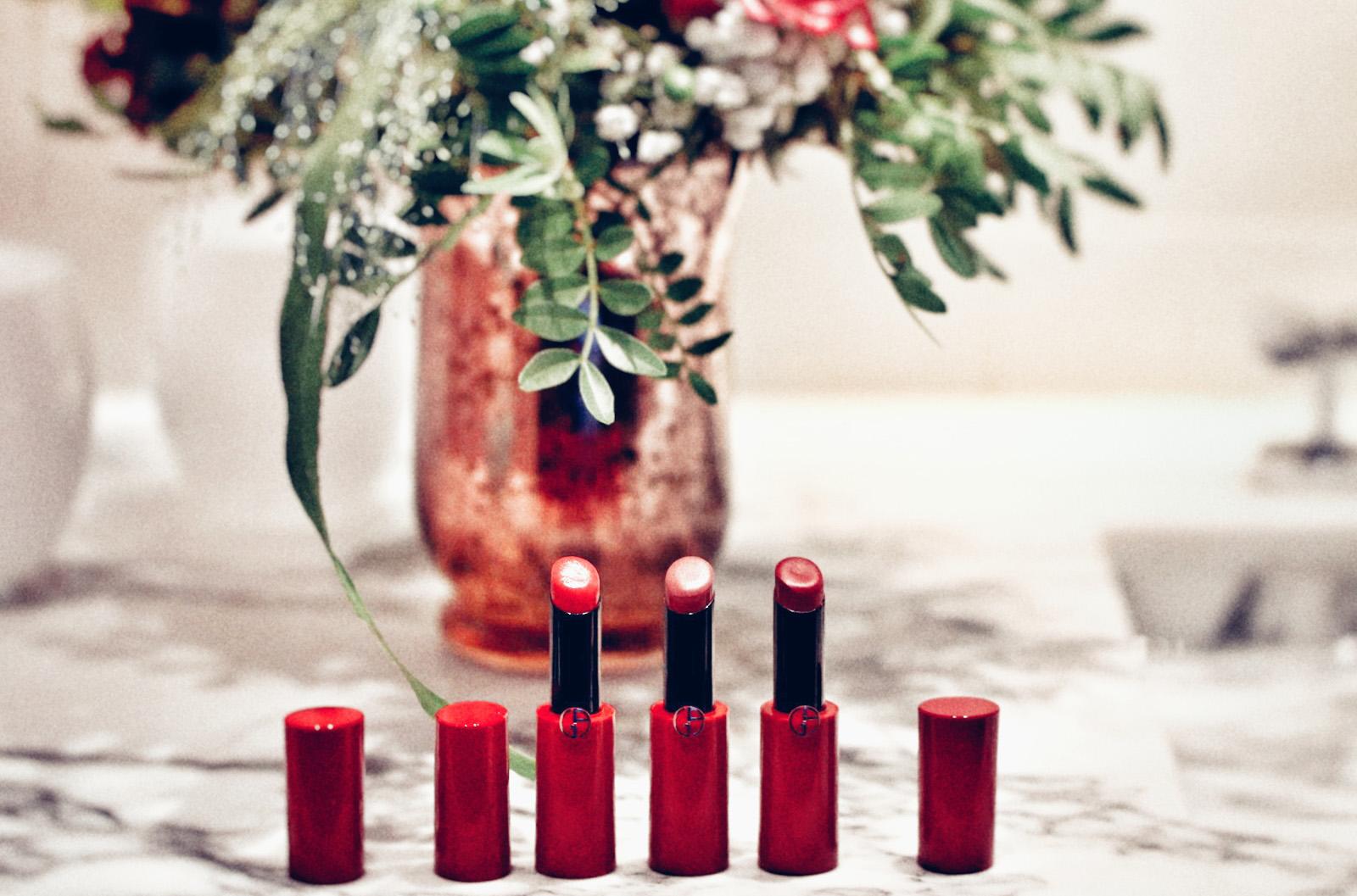 armani rouge ecstasy shine avis test satches