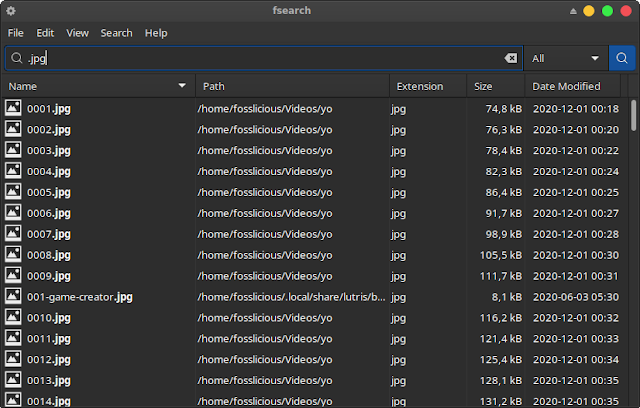 FSearch: Lightweight File Search Utility For Linux!