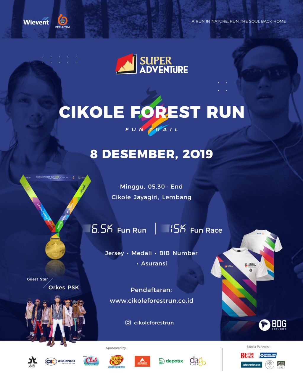 Cikole Forest Run • 2019