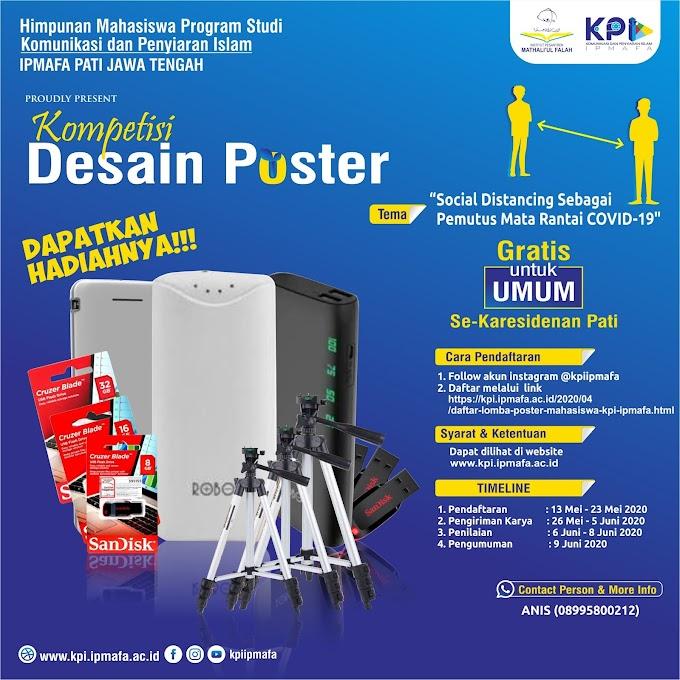 Kompetisi Desain Poster Social Distancing