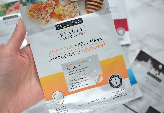 Freeman Hydrating Sheet Mask Review