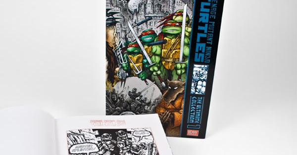 The Ultimate Collection Of Ta Moko: TMNT: The Ultimate Collection Vol. 1 Deluxe Limited