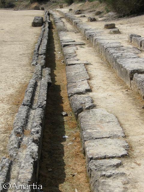 Ancienne Nemea Corinthie Peloponnese Grèce