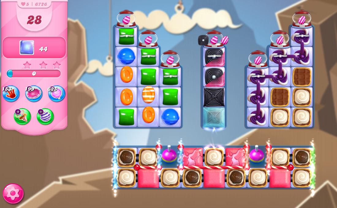 Candy Crush Saga level 6726