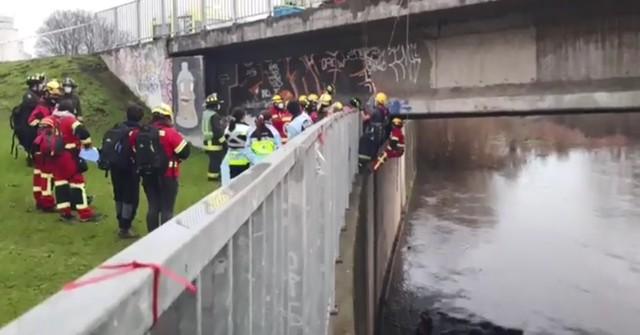 Osorno: tras ser agredido hombre es rescatado bajo puente San Pedro