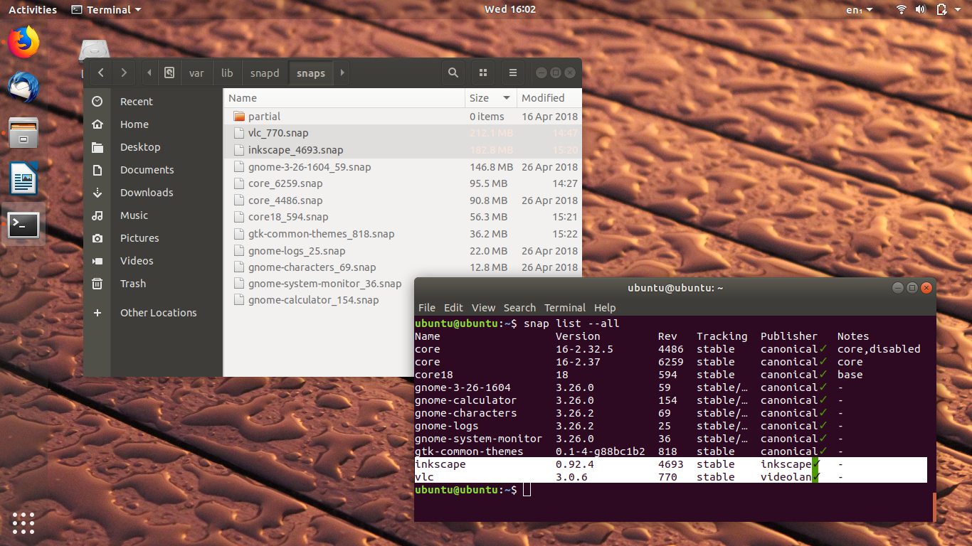 Ubuntu Buzz !: Install Snap from File Offline and Parallel