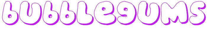 Bubblegums Font