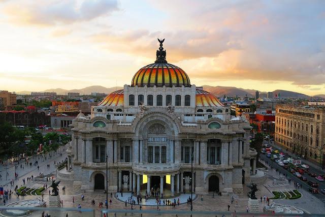 Do Aeroporto Internacional da Cidade do México para o centro