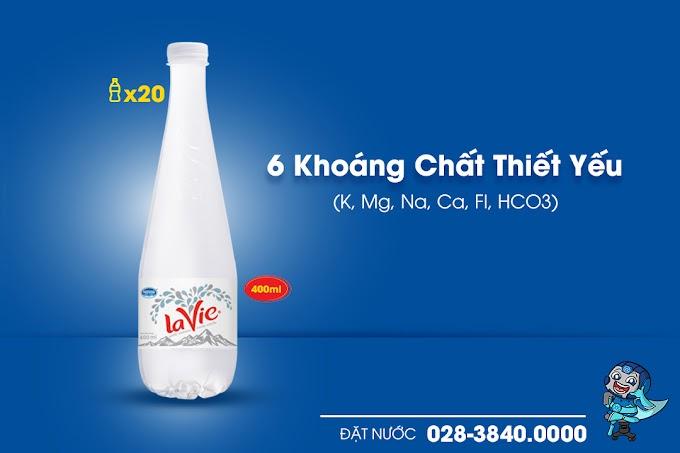 Thùng nước Lavie Premium 400ml