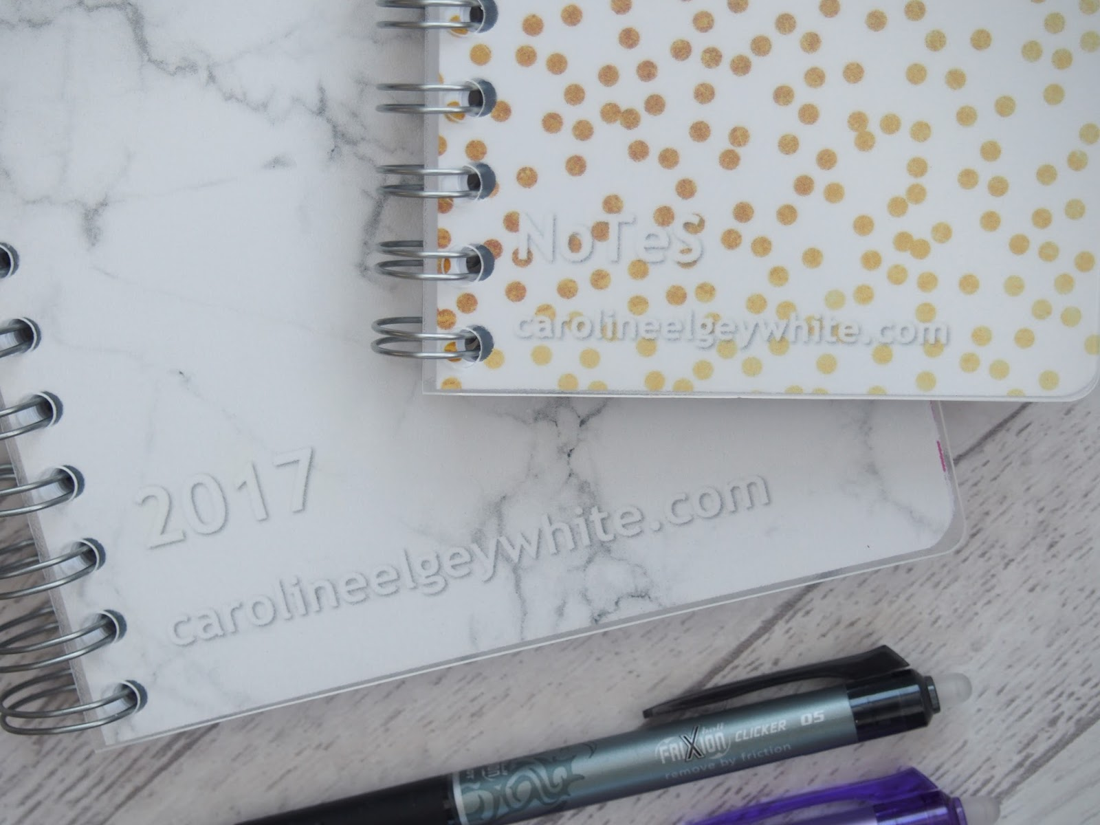 Personal Planner diary and notebook