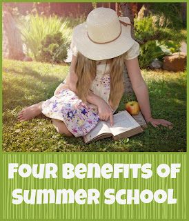 Four Benefits of Summer Homeschooling @ hsbapost.com