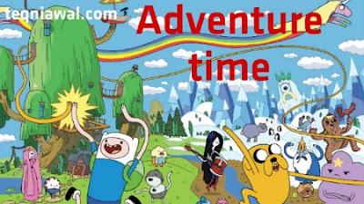 Adventure time- أفضل المسلسلات