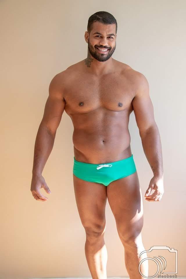 Renan Santiago, 29 anos, 1,84 m, representa a cidade de São Paulo. Foto: Neobeck Benedito