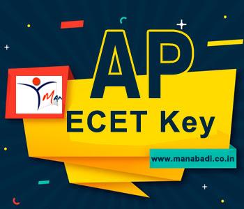 AP Ecet Preliminary Key 2020