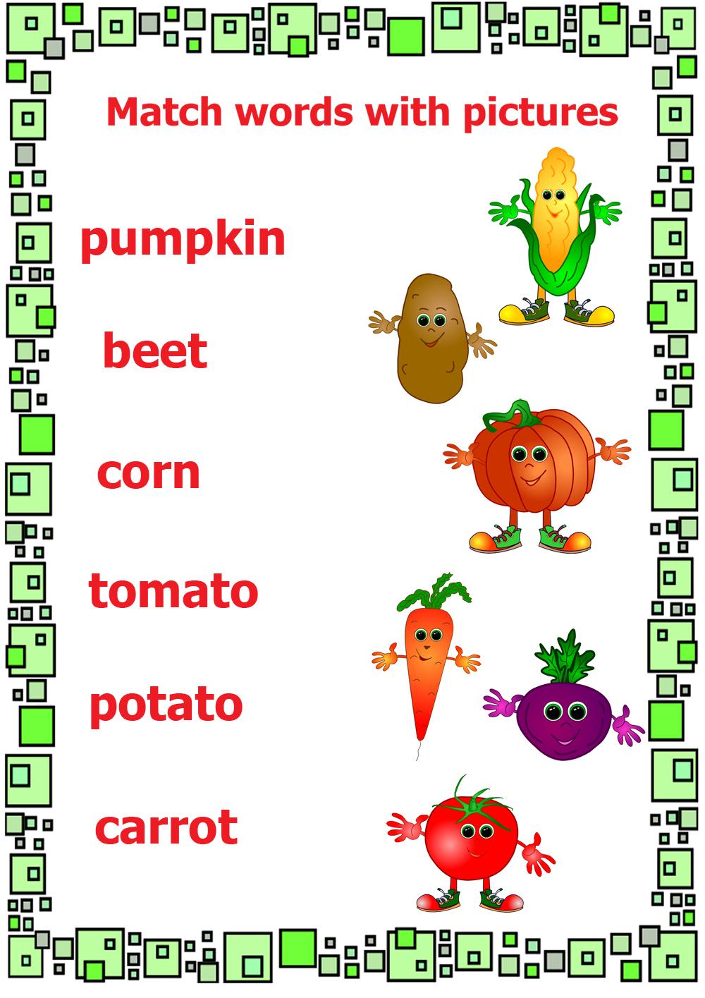 The Garden Song - English Vegetable Vocabulary