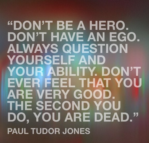 Great Quote by PAUL Tudor Jones