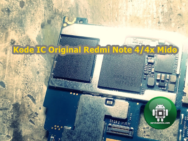 Kode Original Ic Power/Pmi Redmi Note4/Note4x Mido Qualcomm