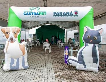 CastraPet: Programa Permanente de Esterilização de Cães e Gatos estará em Roncador - PR nos dias 29 e 30 de julho