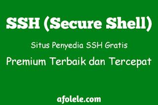 Situs Penyedia SSH Gratis Premium