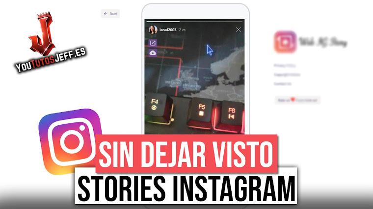 Ver Stories de Instagram Sin Dejar Visto