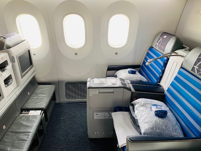 Review: LOT Polish Airlines LO31 Business Class Boeing 787-8 Dreamliner Budapest (BUD) to Chicago O'Hare (ORD)
