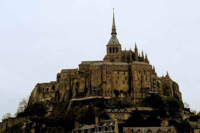Paris to Normandy Road Trip: Mont St. Michel