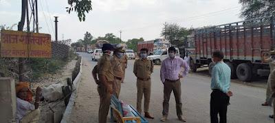 लॉकडाउन के दृष्टिगत जनपद जालौन एवं कानपुर देहात (कालपी) बॉर्डर पर सघन चेकिंग In view of lockdown, intensive checking on district Jalaun and Kanpur countryside (Kalpi) border        संवाददाता, Journalist Anil Prabhakar.                 www.upviral24.in