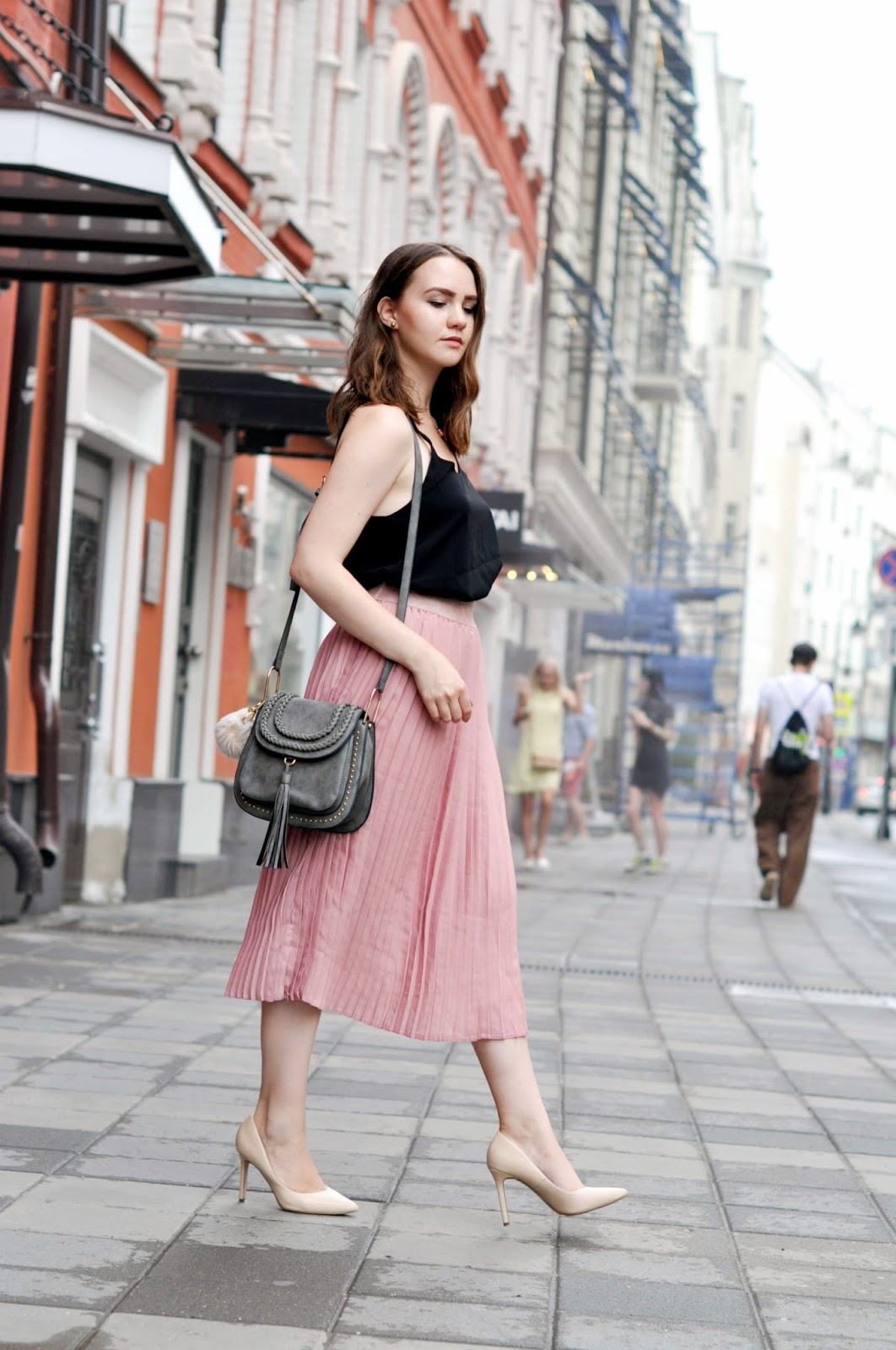Fashion Blogger | Pleated Skirt | Street Style