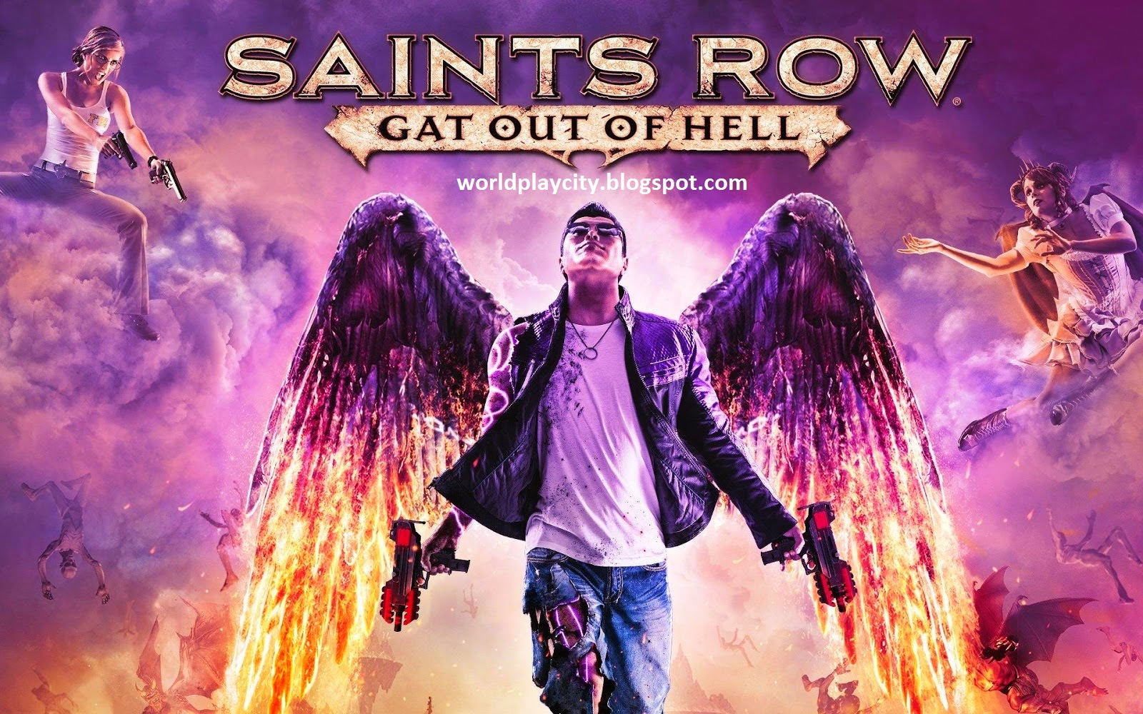 Saints Row Gat out of Hell Download Game Cover