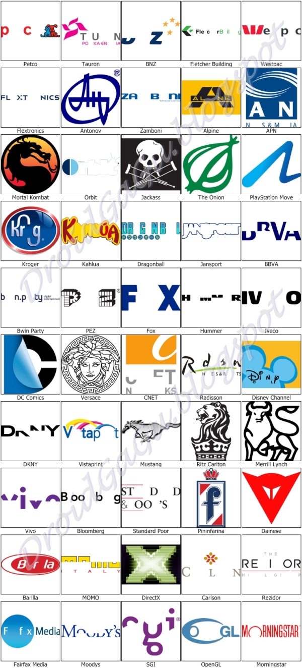 Logo Quiz Answers Level 27 | www.pixshark.com - Images ...