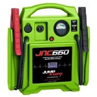 Jump Starter 1700 Peak Amp 12 Volt HI VIZ Green SOLJNC660G Brand New!
