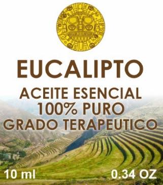 ACEITE ESENCIAL DE EUCALIPTO HECHO EN EL CUSCO