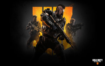 Call of Duty Black Ops 4 Soldats - Fond d'Écran en Full HD 1080p
