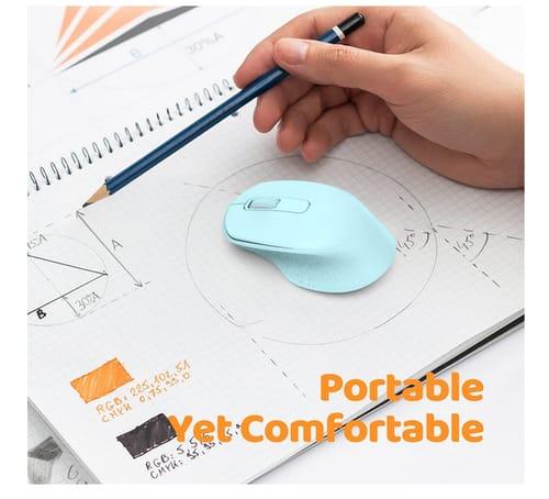 Vic Tech FL Wireless Ergonomic Right-Hand Shape Mouse