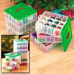 12 Days of Christmas Organizing Tips - Day 8: Ornament Storage ~ Lasting Order